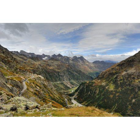Oberland Bernois, Oberalp, Cols de Susten, Furka, Grimsel