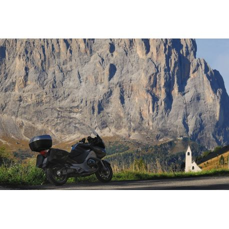 7 Days motorbike in the Alps : Swiss Alps and Dolomites