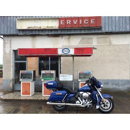Balade à moto de Genève à Paris