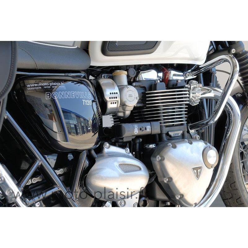 Bonneville T120 Triumph Motorcycle Rental Moto Plaisir