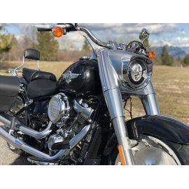 Fat Boy 2018, Location moto Harley Davidson