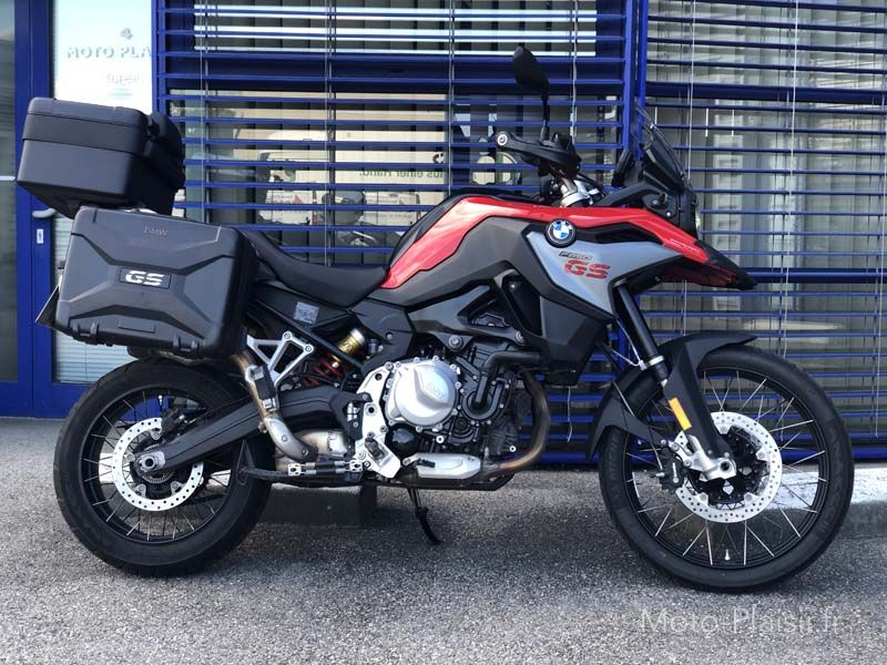 F850GS, location moto BMW