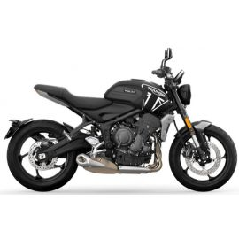 New Trident 660 A2, location moto Triumph