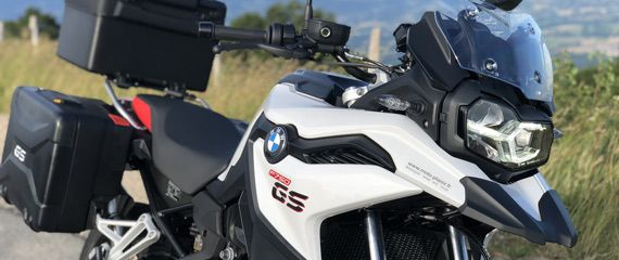 New BMW F750GS