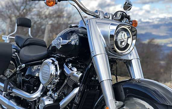 Harley Davidson rental Fat boy 2018