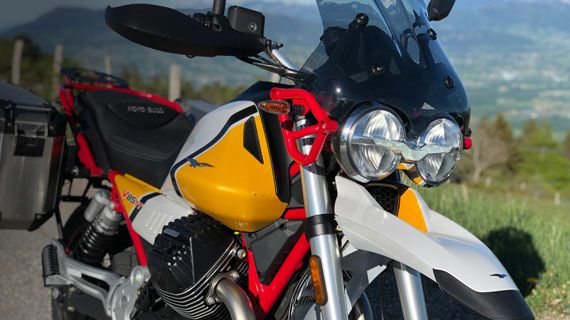 Rent your Moto-Guzzi V85TT